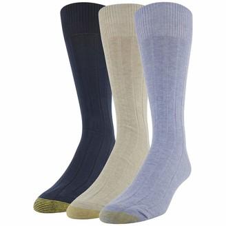 Gold Toe Men's Hampton Crew Socks 3 Pairs