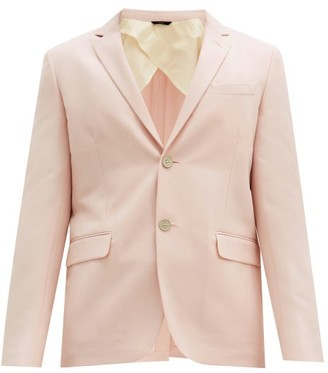 Fendi Wool-blend Cavalry-twill Suit Jacket - Pink