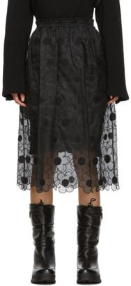 MONCLER GENIUS 4 Moncler Simone Rocha Black Lace Skirt
