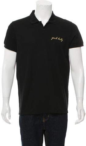 Saint Laurent Yeah Baby Polo Shirt