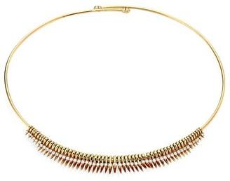 Hueb Tribal 18K Yellow Gold Diamond-Studded Choker Necklace