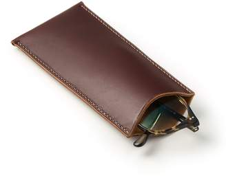Rob-ert Robert Christopher Leather Leather Glasses Case