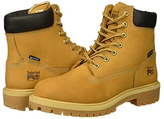 Timberland Direct Attach 6 Soft Toe WP (Wheat Nubuck) Women's Work Boots