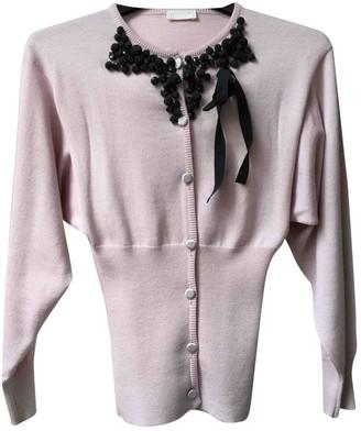 Valentino Pink Wool Knitwear