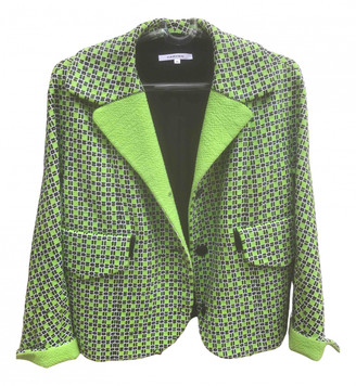 Carven Green Cotton Jackets