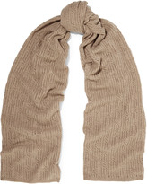 Magaschoni Open-knit cashmere scarf