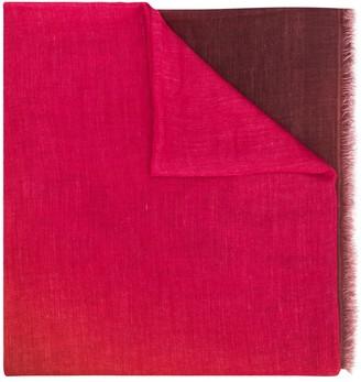 Faliero Sarti Ruby ombre-effect scarf