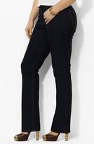Lauren Ralph Lauren Straight Leg Jeans (Plus Size)