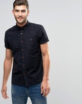 Asos CAsual Regular Fit Oxford Shirt With Nepp