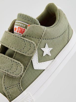 Converse Star Player 2V Ox Toddler Trainer -Sage