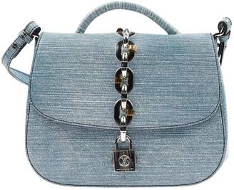 Louis Vuitton Chain It Blue Cloth Handbags