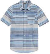 Vans Woven Short Sleeve Button-Front Shirt Boys