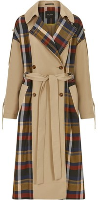 Palones Kimmi Signature Check Back Trench