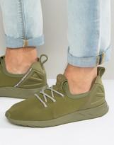 Adidas Originals Zx Flux Adv X Trainers In Green B49405