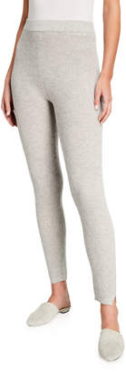 Amicale Thermal Waffle Stitch Leggings