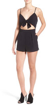 KENDALL + KYLIE Kendall & Kylie Tie Front Romper