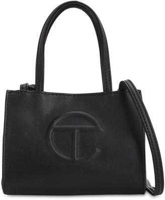 Telfar Small Embossed Logo Shopper Tote Bag
