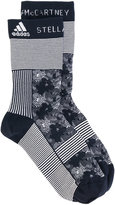 adidas by Stella McCartney graphic running socks - women - Polyamide/Spandex/Elastane - S