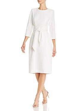Adrianna Papell Tie-Waist Dress