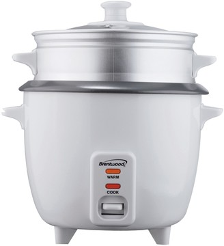 Brentwood Appliances Rice Cooker with Food Steamer