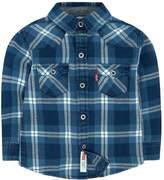 Levi's Levis Boys 4-7 Barstow Western Plaid Button Down Shirt