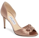 Jimmy Choo Women's Kitty Peep Toe Pump