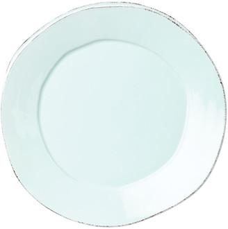Vietri Lastra Aqua Dinner Plate