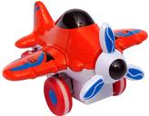 Orange Metal Buddies Cartoon Prop Plane