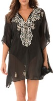Miraclesuit R) Cloisonne Caftan Cover-Up