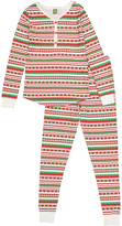 Dollie & Me Red Stripe Pajama Set & Doll Outfit - Women