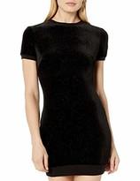 Dress the Population COSMOPOLITAN x Junior's Malorie Velvet Sequin Bodycon Mini Dress