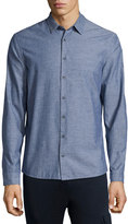 ATM Anthony Thomas Melillo Chambray Long-Sleeve Shirt, Navy