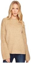 Blank NYC Camel Sweater in Atomic Tan Women's Sweater