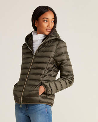 Save The Duck Iris Full-Zip Hooded Packable Jacket
