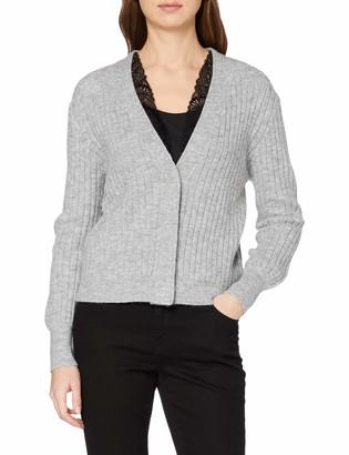 Tom Tailor Women's Spitzencardigan Cardigan Sweater