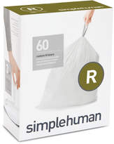 Simplehuman Code R 60-Pk. Custom-Fit Trash Can Liners Bedding
