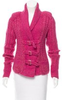 Chanel Wool & Mohair-Blend Shawl-Collar Cardigan