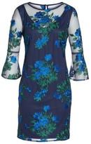 Chetta B Women's Bell Sleeve Lace Sheath Dress