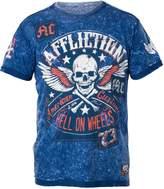 Affliction Burning Rubber Short Sleeve T-Shirt S