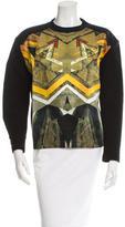 Risto Graphic Rib Knit-Trimmed Sweatshirt