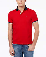 Tommy Hilfiger Men's Logo Custom Fit Polo