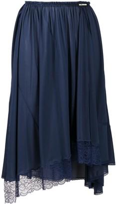 Balenciaga Lace Detail Skirt