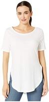 Alternative Organic 1/2 Sleeve Tunic (Earth Grey) Women's Clothing