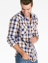 Lucky Brand Twill Western Shirt