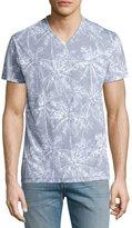 Sol Angeles Mayan Jungle V-Neck T-Shirt, Blue