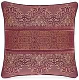 "J Queen New York Ellington Red 20"" Square Decorative Pillow"