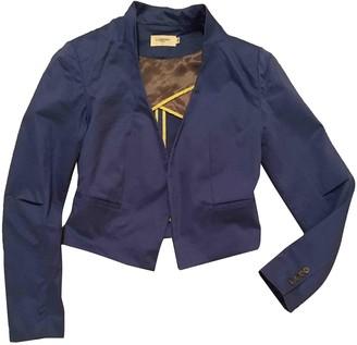 Eleven Paris Blue Cotton Jacket for Women