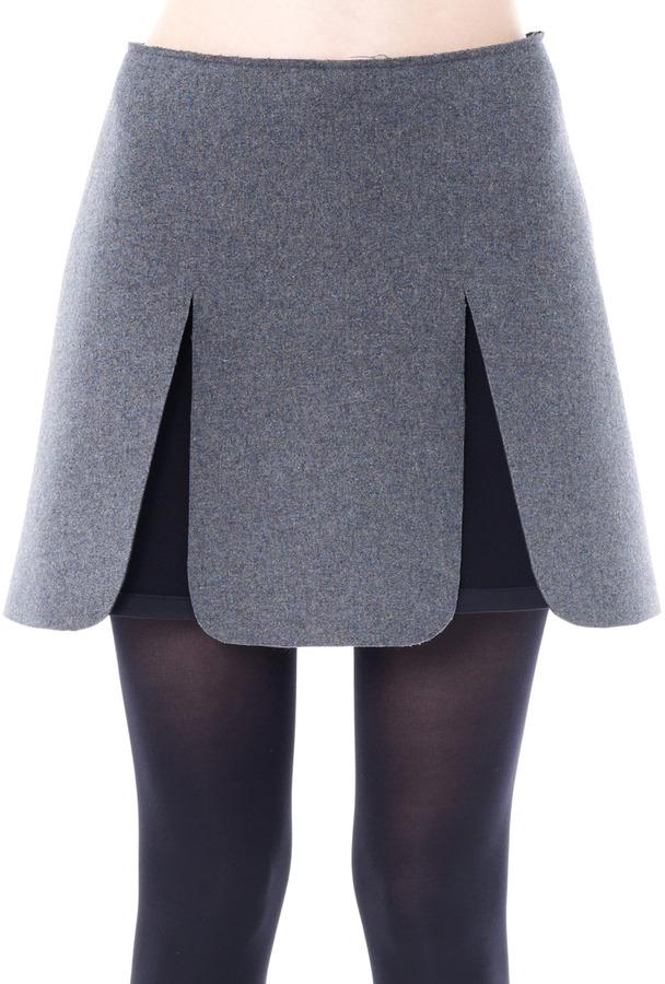 J.W.Anderson Sponge wool skirt