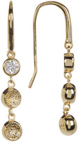 Melinda Maria Abbie CZ Pod Linear Drop Earrings
