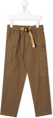WHITE SAND KIDS cargo trousers